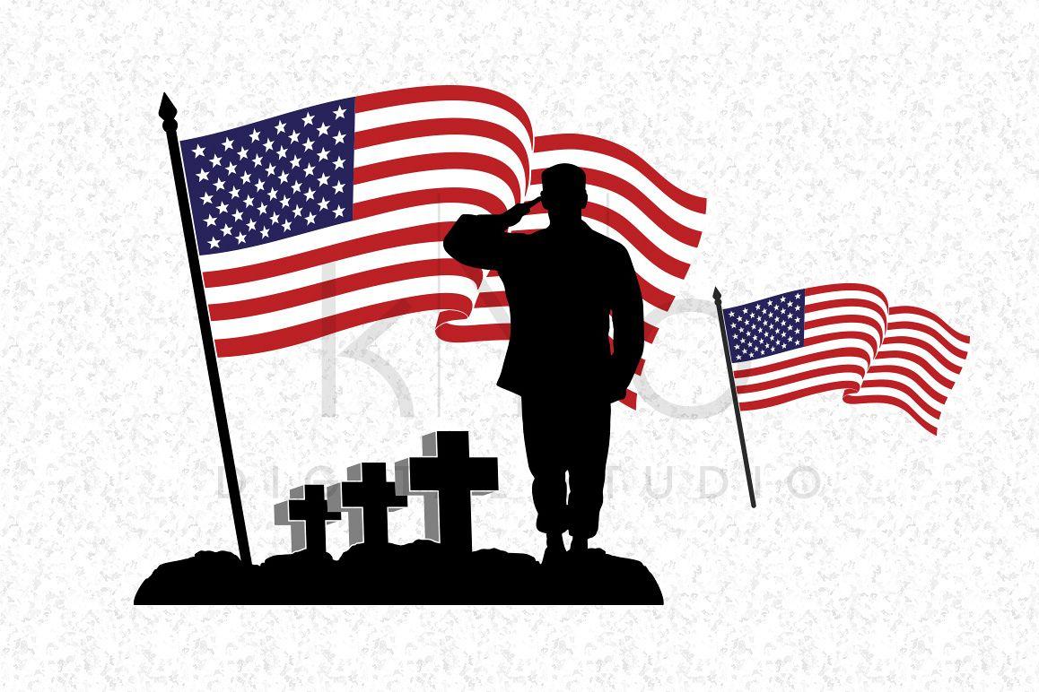 1158x772 Fallen Soldier Svg Veterans Day Svg Dxf Design Bundles
