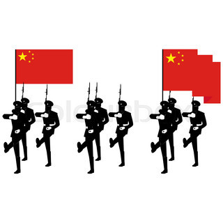 320x320 Soldiers Vietnamese Army Against The Background The Flag