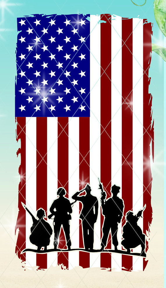 570x986 Usa Soldiers Soldiers Svg Usa Flag Flag Svg Soldier Flag