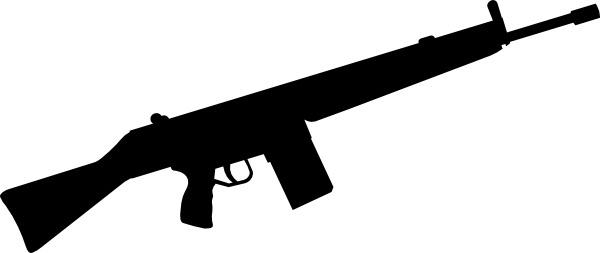 600x253 Soldier Clipart Gun Silhouette