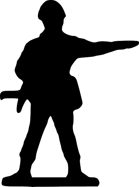 477x640 Point, Silhouette, Cartoon, Stand, Toy, Soldier