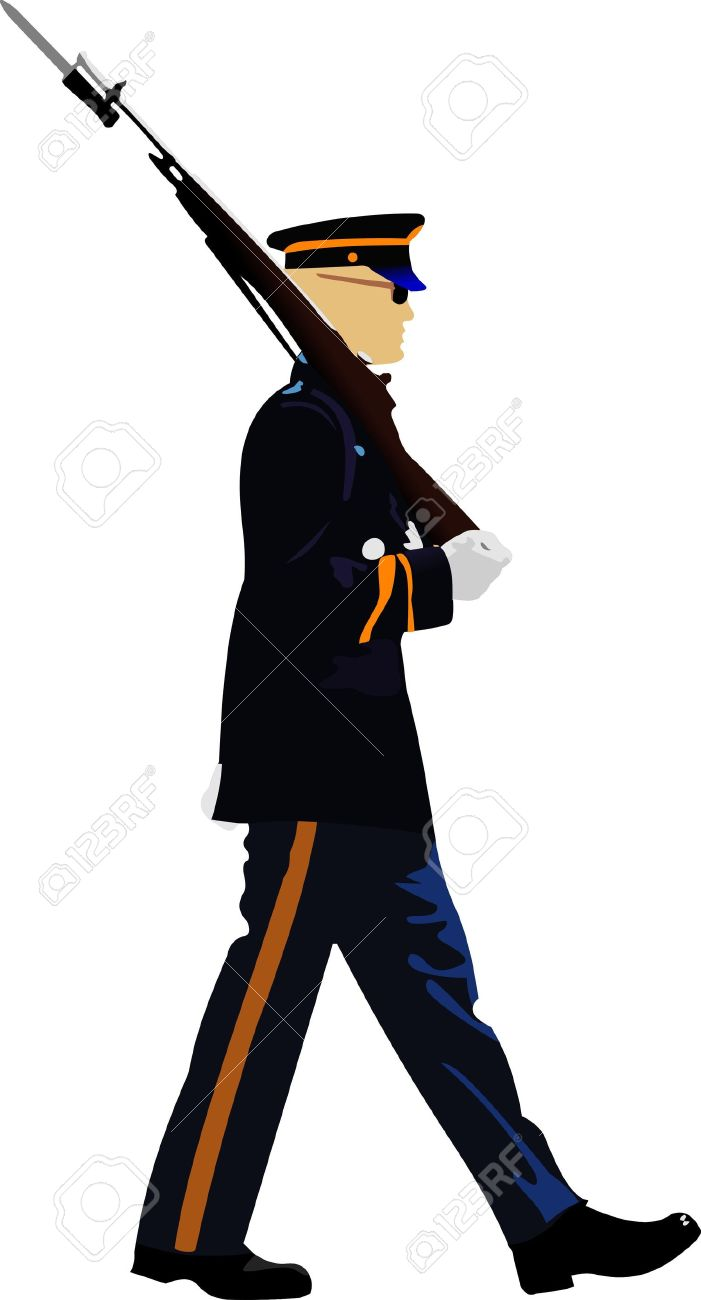 701x1300 Soldiers Clipart Army Marching