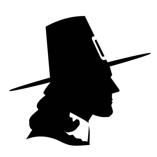 660x660 Silueta De Un Hombre Con Sombrero