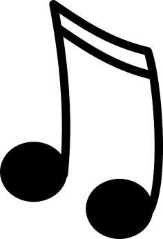 236x346 Musical Note Clip Art Cricut Svg Files Clip Art