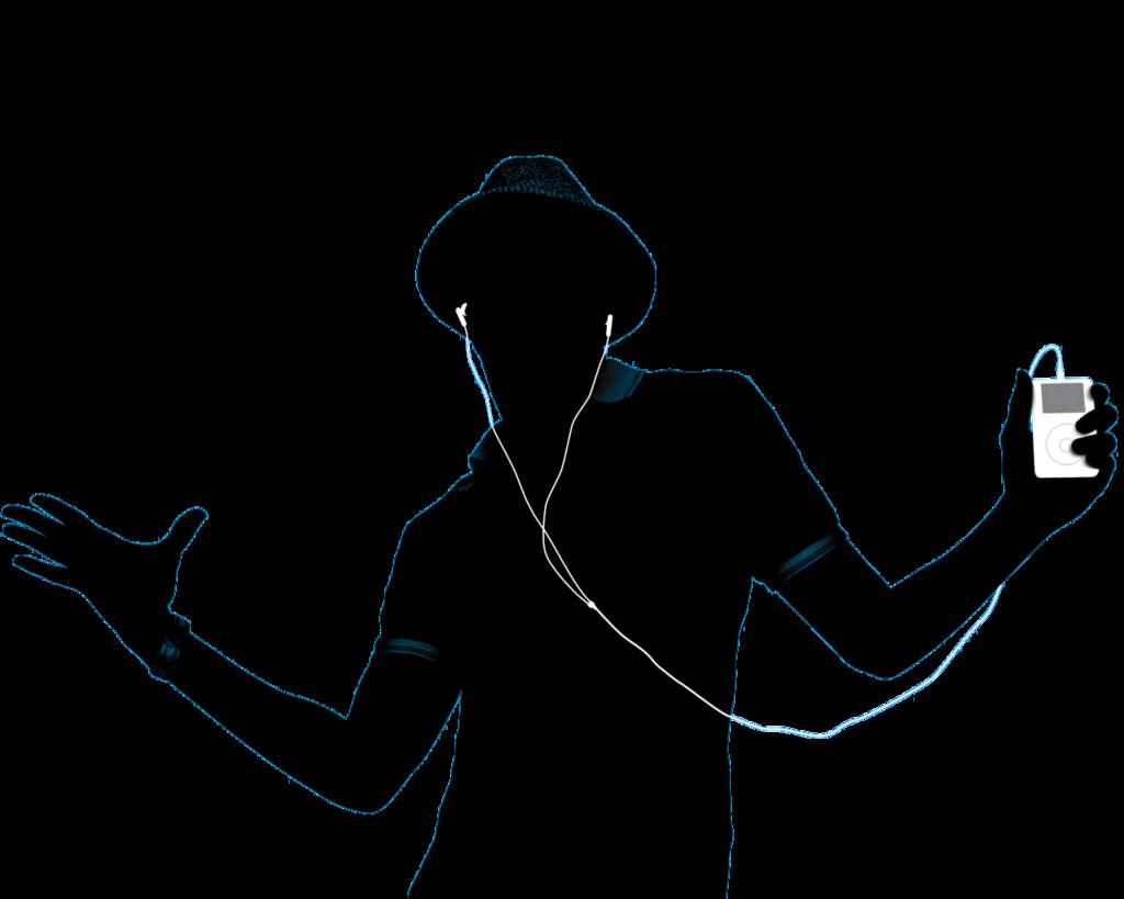 1024x819 Png Man Hearing Music By Selenator003 By Selenator003