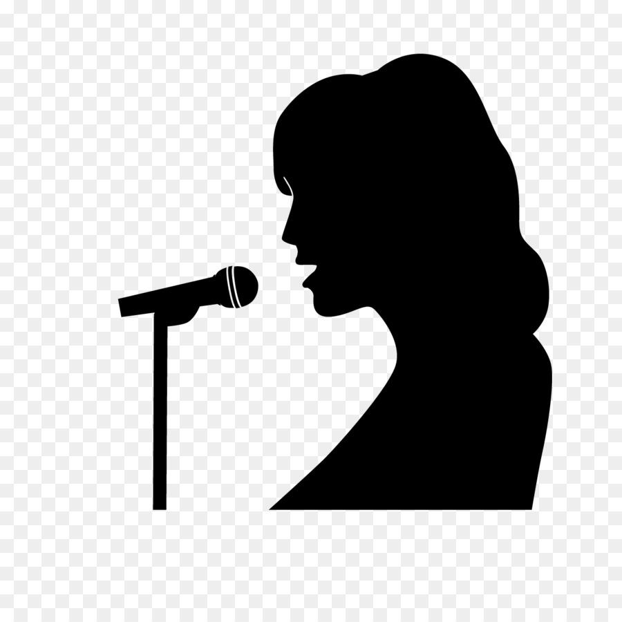 900x900 Singer Music Silhouette Song Clip Art