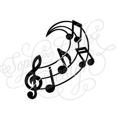 236x236 Your Favorite Song Music Note Svg Dxf Digital Download File