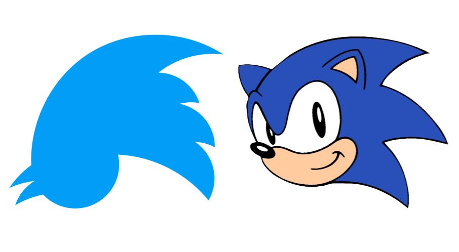 906x498 Does The Upside Down Twitter Logo Look Like Sonic