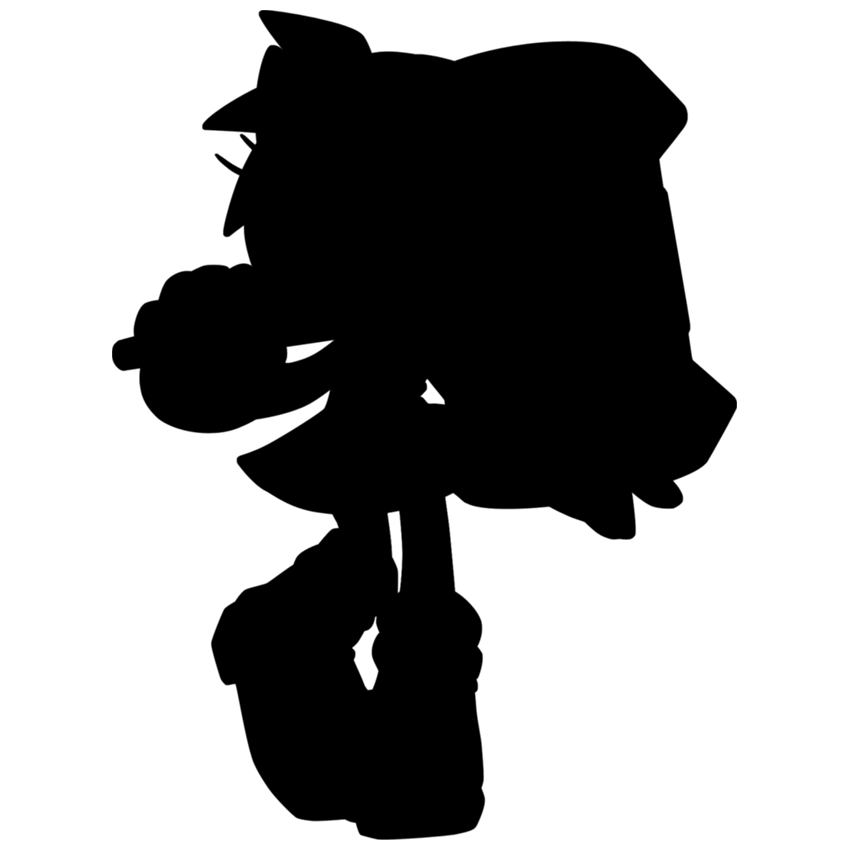 850x850 Sonic Characters By Silhouette Quiz