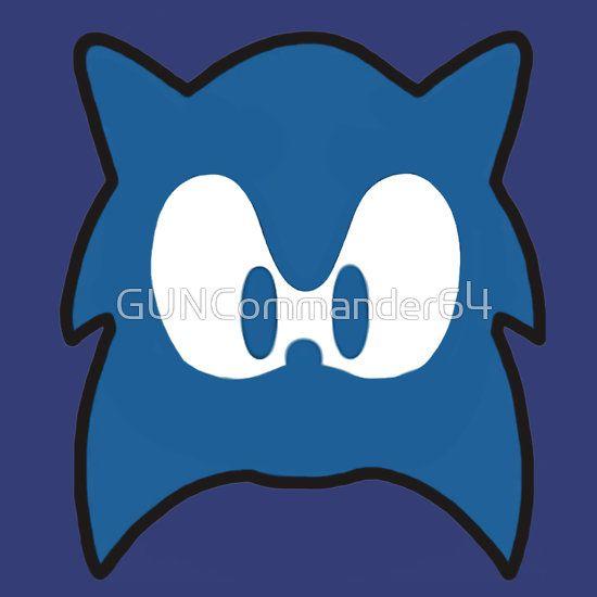 550x550 Sonic Silhouette Sonic Blast!