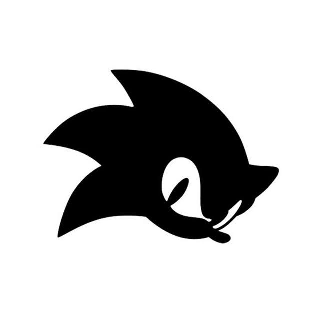 640x640 Hotmeini 13.510cm Games Sonic The Hedgehog Car Sticker Decals