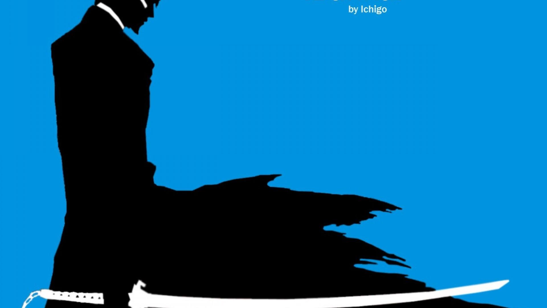 1920x1080 Screenheaven Bleach Kurosaki Ichigo Ipod Silhouettes Simple