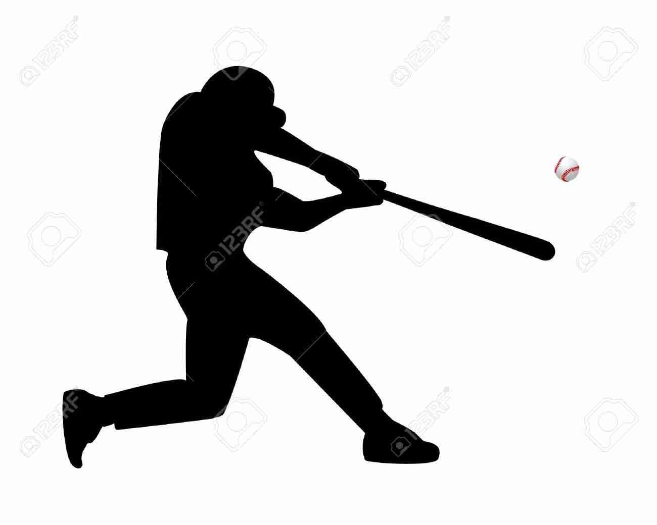 1300x1040 Baseball Players Silhouettes Olegratiy