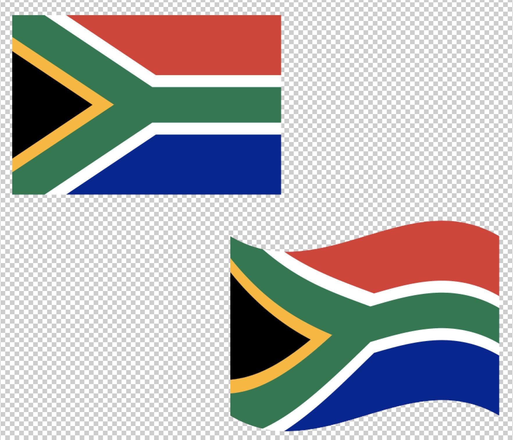 1764x1512 South Africa Flag Svg Vector Clip Art