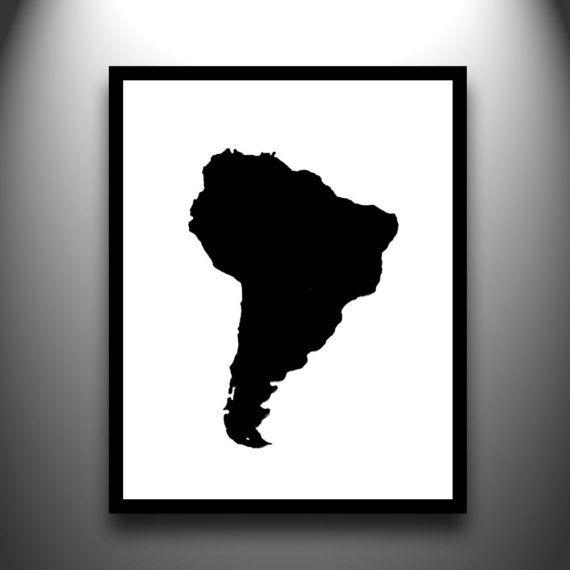 570x570 South America Silhouette T R A V E L South