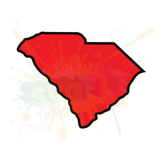 570x570 South Carolina Svg Files For Cutting State Cricut Sc Designs