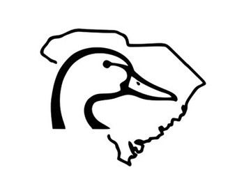 340x270 Duck South Carolina Decal Silhouette Svg Dxf File Instant Download