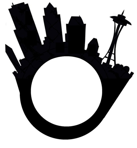464x500 3d Printed Seattle City Skyline Ring With Space Needle By