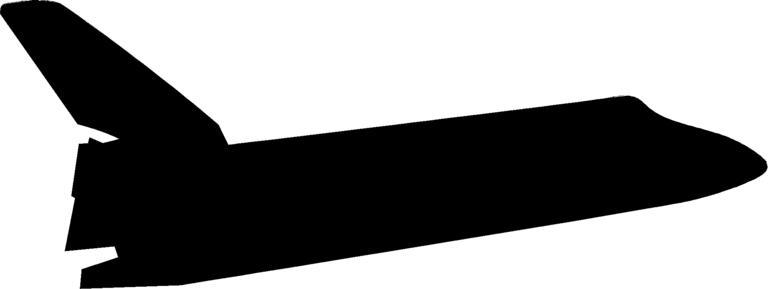 768x289 Shuttle Silhouette 4 On Mens Short Sleeve T Shirt