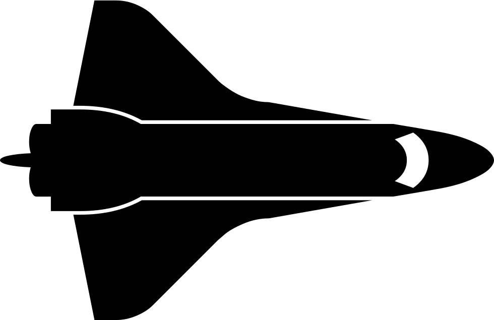 980x635 Space Shuttle Svg Png Icon Free Download ( 294617