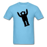 190x190 Floating Spaceman Silhouette By Azza1070 Spreadshirt
