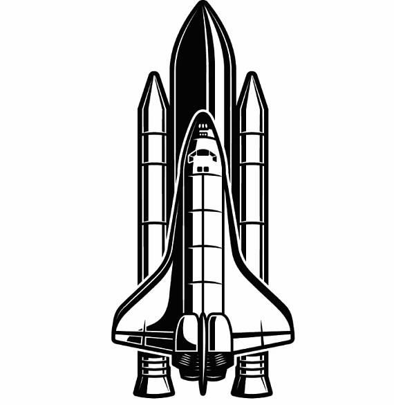Spaceship Silhouette