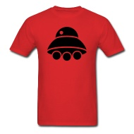 190x190 Flying Ufo Spaceship Silhouette By Azza1070 Spreadshirt