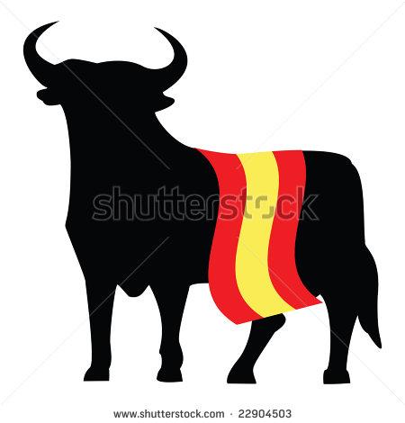 450x470 Spanish Bull Logo Spain Cross Stitch Spanish