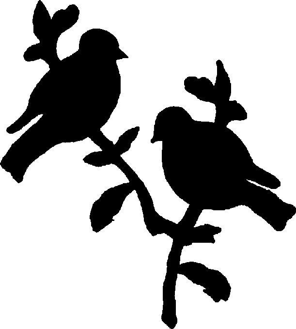 611x679 Bird Silhouette Clip Art Free Clipart 2 Image