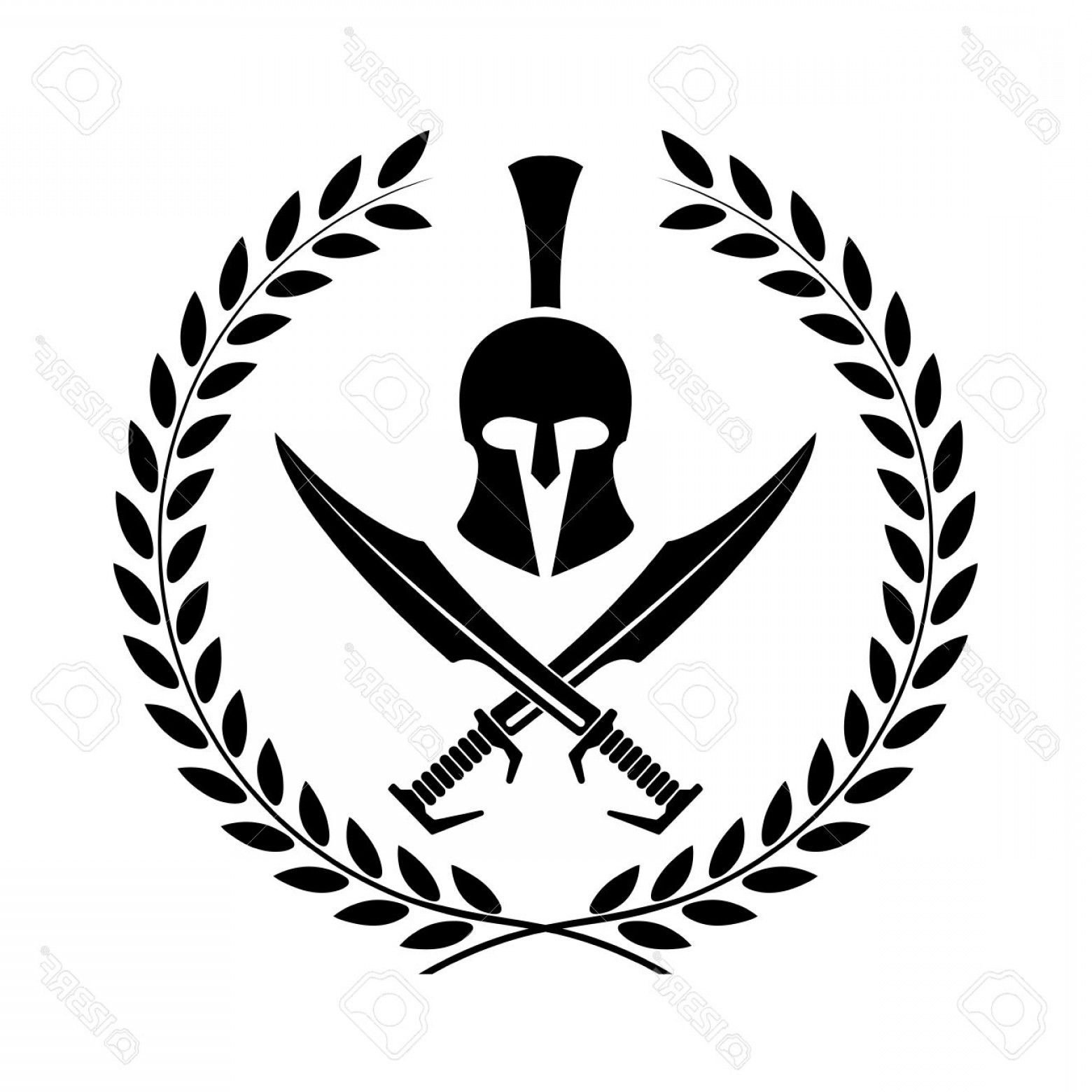 1560x1560 Warrior Helmet Vector Lazttweet