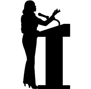 speaker silhouette at getdrawings com free for personal use rh getdrawings com public speaking clipart black and white public speaking animated clipart