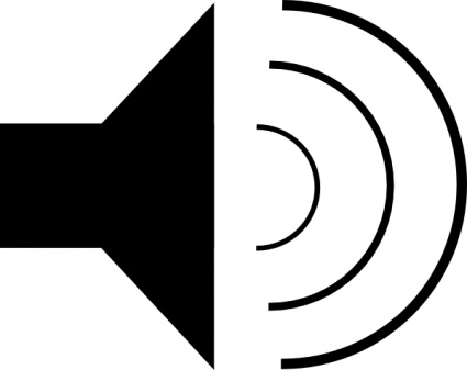 425x337 Speaker Icon Clip Art Vector, Free Vector Graphics