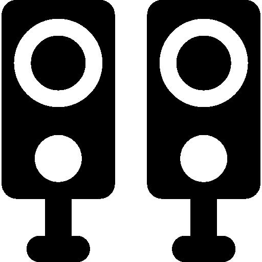 512x512 Speakers Silhouette