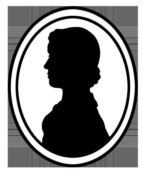 591x706 Victorian Silhouette Clipart