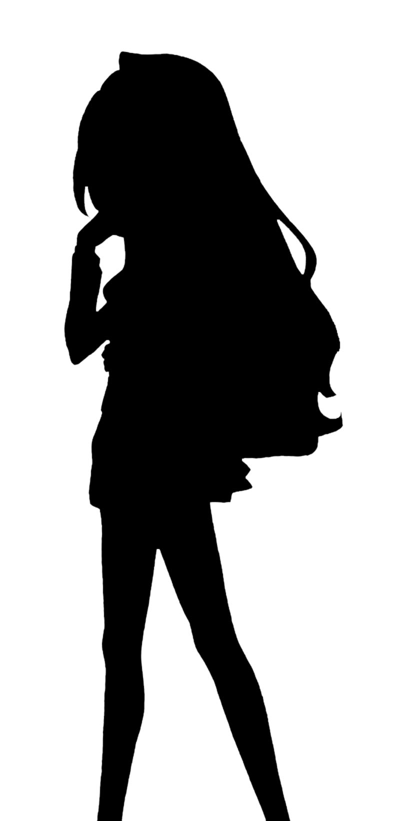 820x1642 Guess The Silhouette Anime