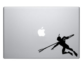 340x270 Spear Decal Etsy