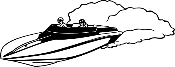 Speed Boat Silhouette at GetDrawings com | Free for personal
