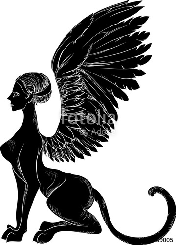 360x500 Search Photos Silhouette Of Greek Sphinx