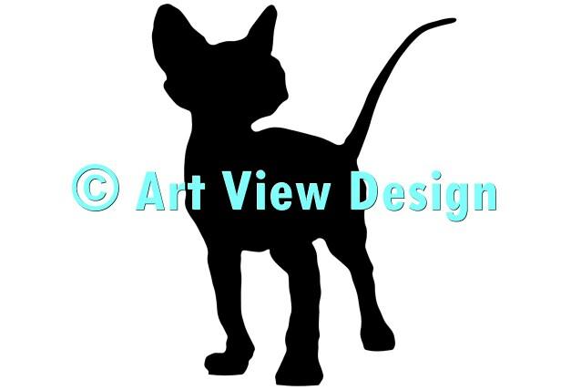 Sphynx Cat Silhouette