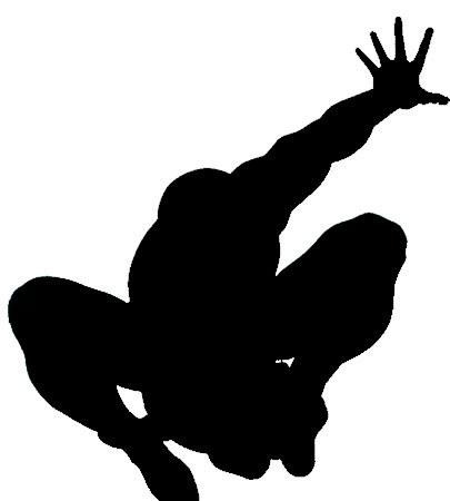 Spider Man Silhouette