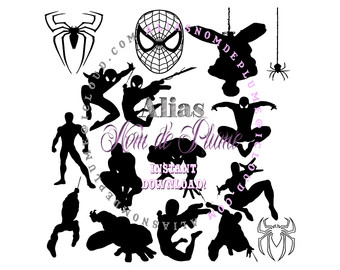 340x270 Spiderman Cut Files Etsy