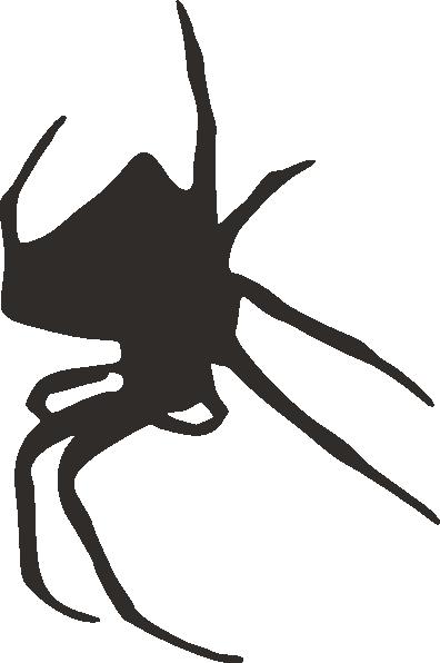 396x596 Spider Silhouette Clip Art