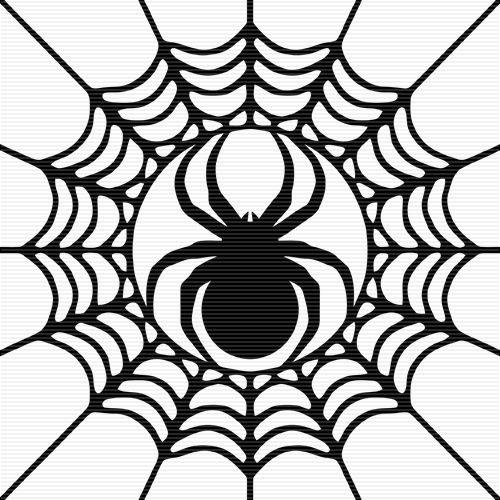 Spider Silhouette Clip Art