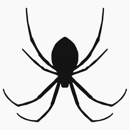 spider silhouette clip art at getdrawings com free for personal rh getdrawings com clipart spiders clipart spiders web