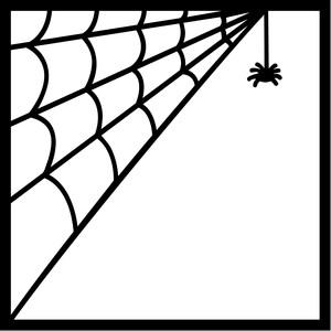 300x300 Silhouette Design Store Spider Web Frame Sophie Gallo Design