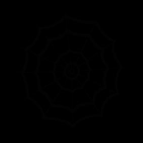 283x283 Spider Web Silhouette Silhouette Of Spider Web
