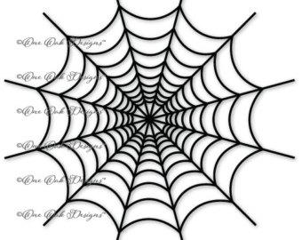 340x270 Spider Web Split Monogram Frame Svg Dxf Png Pdf