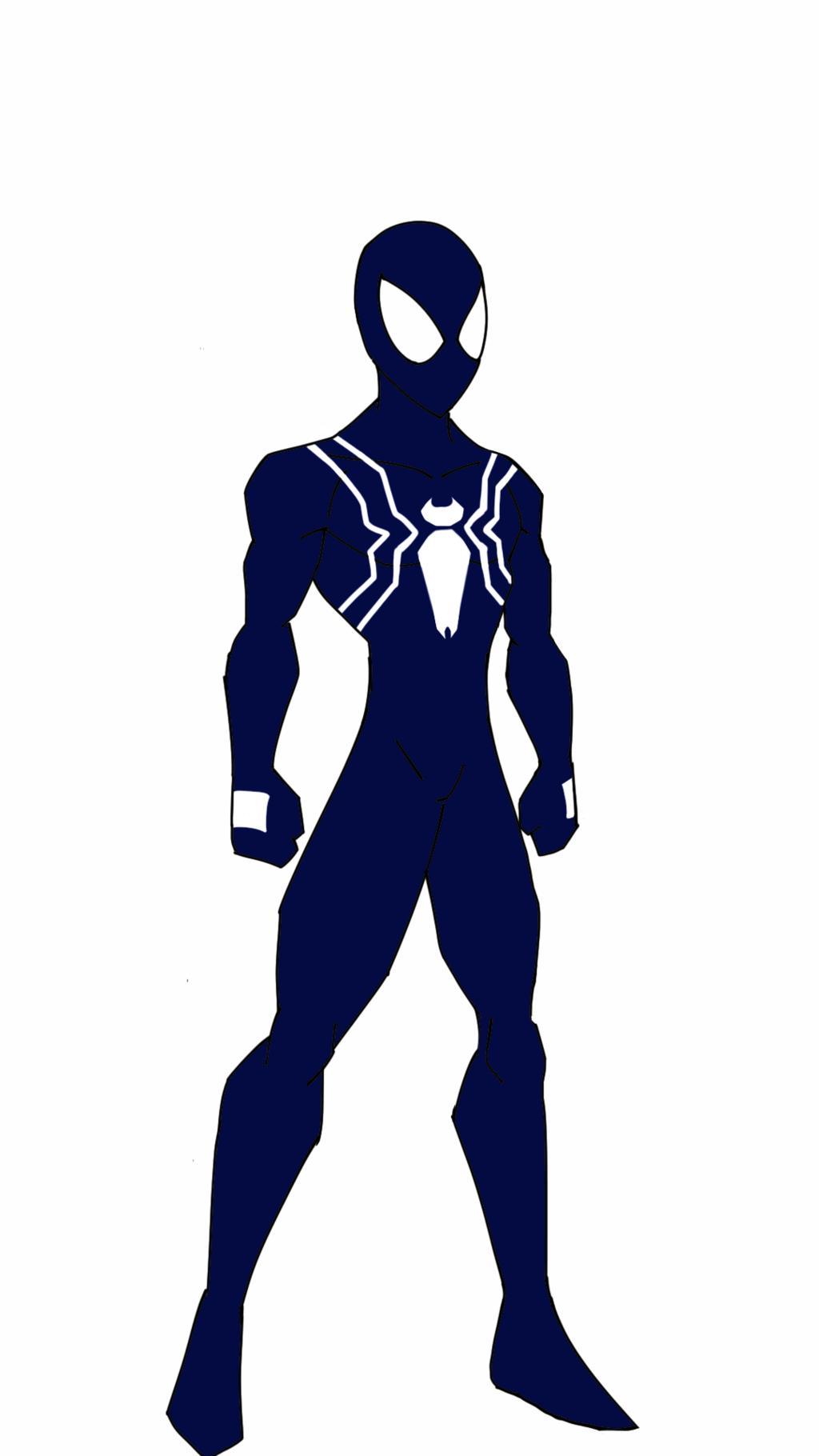 1024x1820 Malik's Spider Man (Symbiot Black Suit) By Malikisvengeance