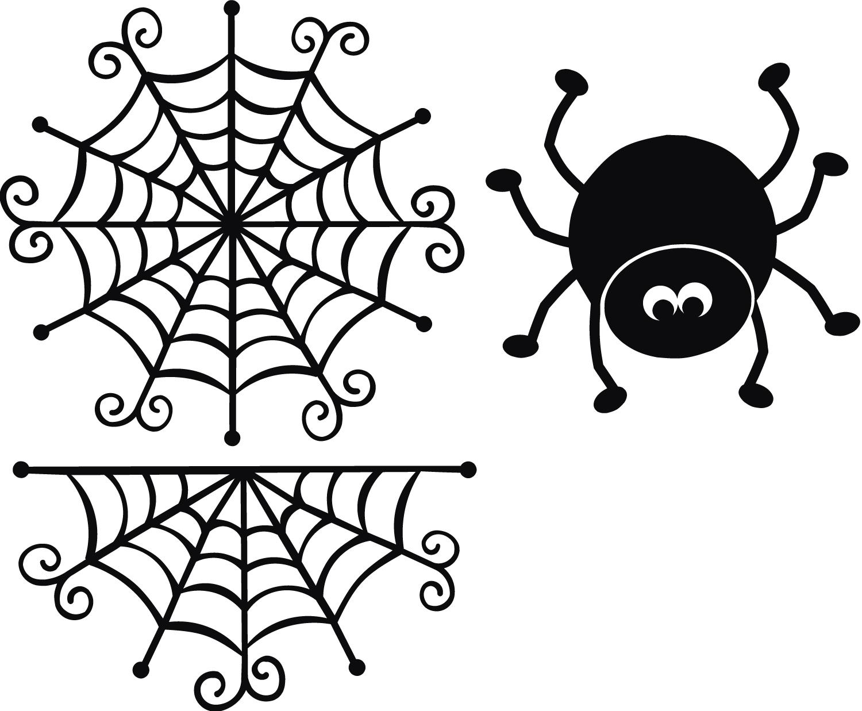 1500x1237 Spider Web Spider Svg Cut File Spider Webs, Spider