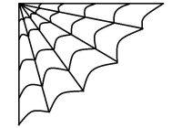 200x140 Spider Web Png Cartoon Silhouette Spider Web Materialspider